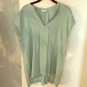 Vince blouse, mint, size M